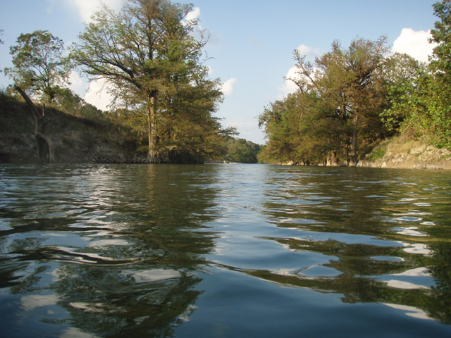 River in Boerne, Texas